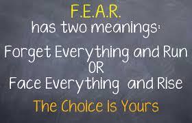The Fear Of Failure