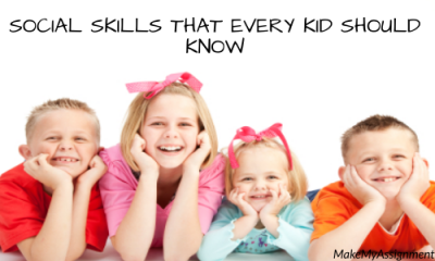 Social Skills That Every Kid Should Know