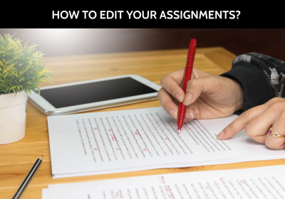 How To Edit Your Assignments?