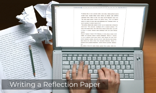 Writing A Reflection Paper