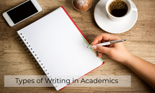 Types Of Writing In Academics