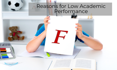 Reasons For Getting Poor Grades In Academics