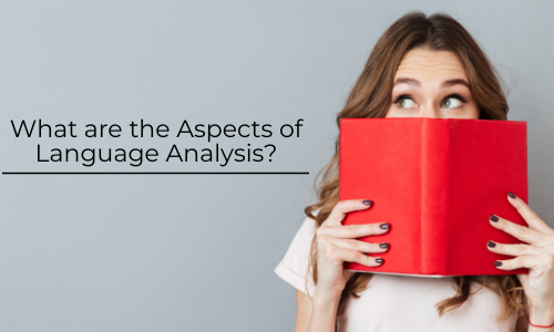 Aspects of Language Analysis – MakeMyAssignments Blog