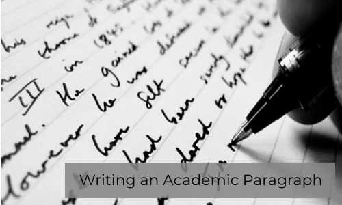 Writing An Academic Paragraph