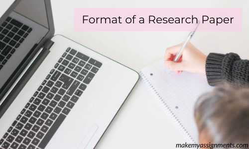 How To Format A Research Paper?