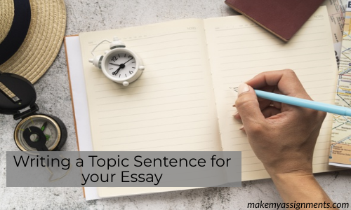 Writing A Topic Sentence For Your Essay