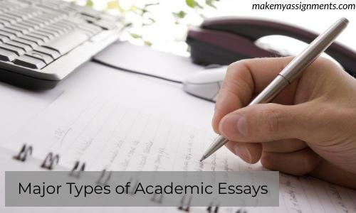 Major Types Of Academic Essays