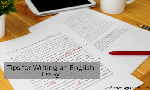 Tips For Writing An English Essay