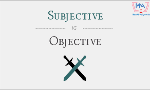 Difference Between Subjective And Objective Statements