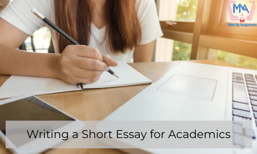 Writing A Short Essay For Academics
