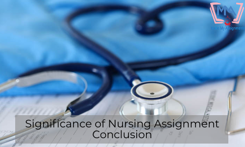 Significance Of Nursing Assignment Conclusion