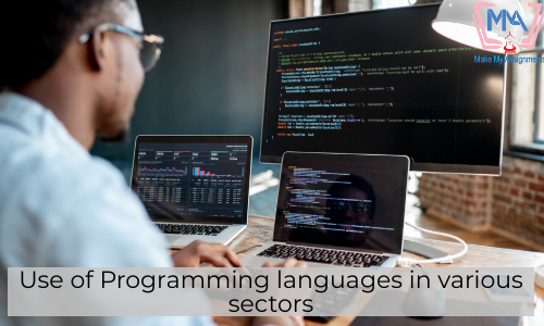 Use Of Programming Languages In Various Sectors