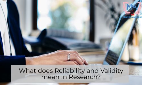 What Does Reliability And Validity Mean In Research?