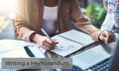 Writing A Memorandum For Academics