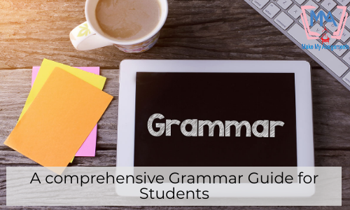 A Comprehensive Grammar Guide For Students