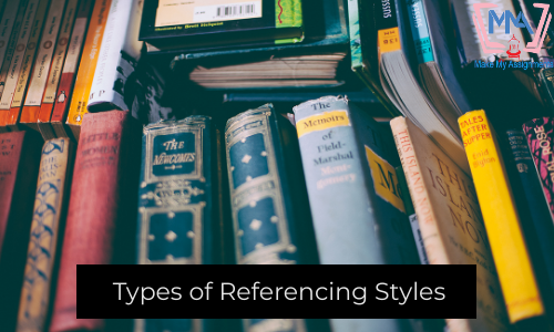 Types Of Referencing Styles