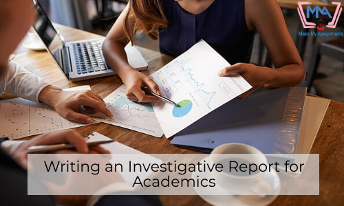 Writing An Investigative Report For Academics