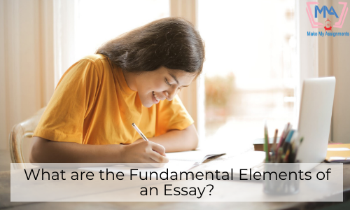 What Are The Fundamental Elements Of An Essay?